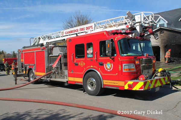 Cambridge Ontario fire truck