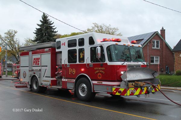 Kitchener ON FD Engine 9