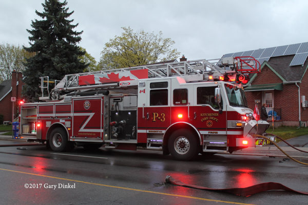 Kitchener ON FD Pumper 3