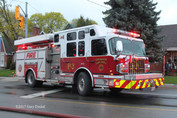 Kitchener ON FD Engine 2