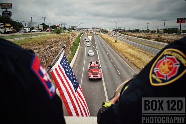 San Antonio FD LODD funeral for FF Scott Deem