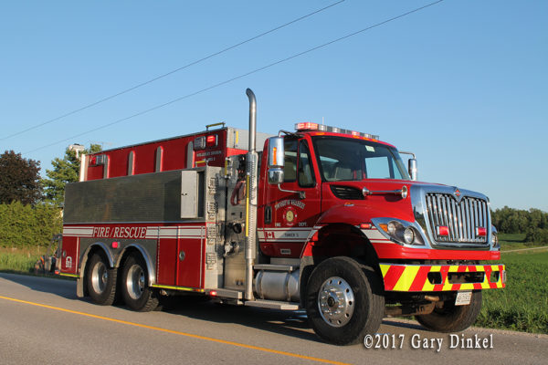 Wellesley Township FD Tanker 1 Linwood Station