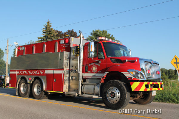 Wellesley Township FD Tanker 3 Wellesley Station