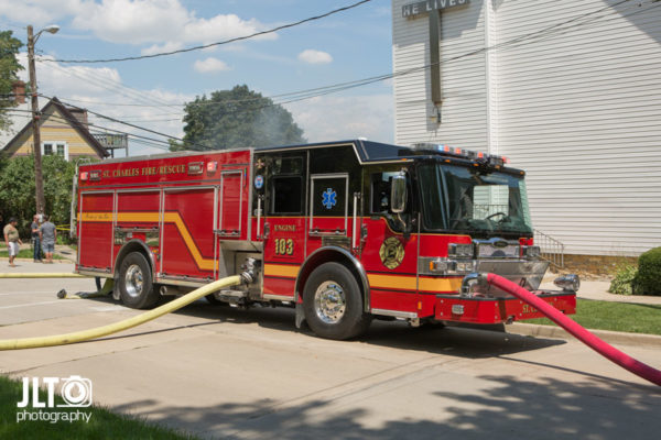 St Charles fire truck