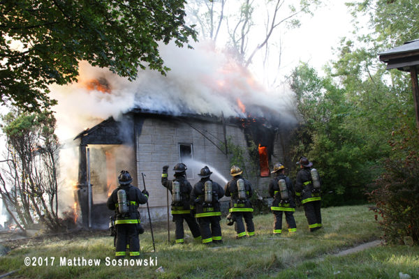 dwelling fire in Detroit