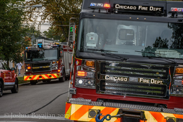 Chicago FD Squad 5 Rosenbauer Commander