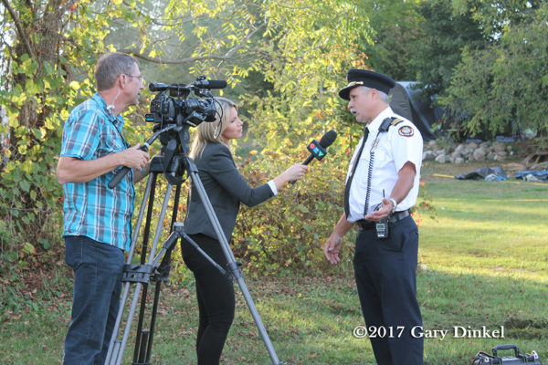 media interviews fire chief