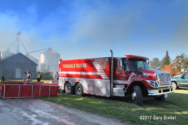 Woolwich Township Floradale fire tender