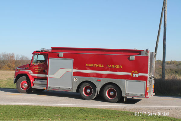 Woolwich Township, Maryhill station fire tender in Canada