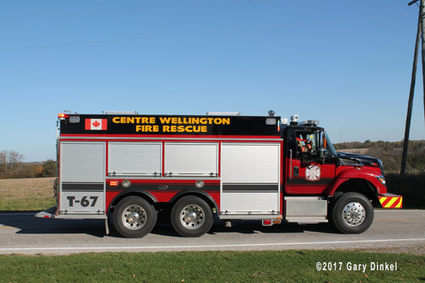 Centre Wellington fire tender