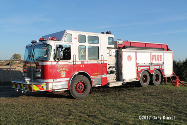 Woolwich Township, Elmire station fire engine