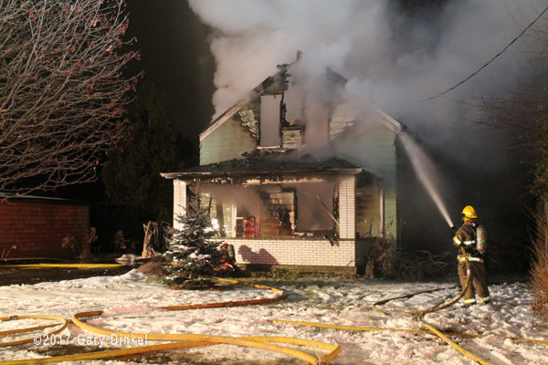 house fire in Waterloo Ontario