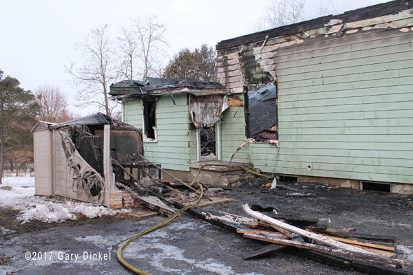 house destroyed by fire in Waterloo Ontario