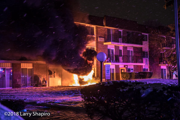 huge flames engulf electric control box