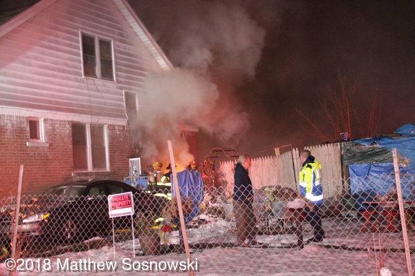 house fire in Detroit