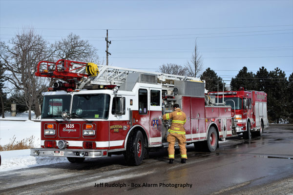 Waukegan Fire Department Seagrave quint
