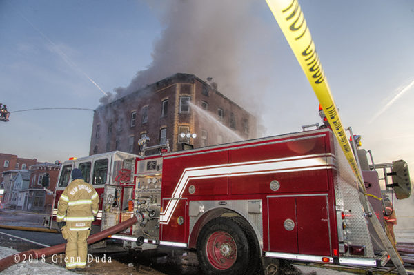 2-Alarm fire in New Britain CT