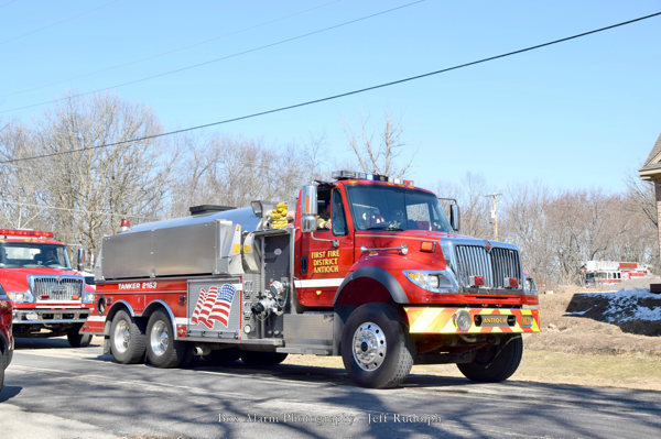 Antioch First Fire District water tender