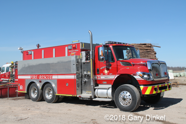 Wellesley Township Ontario fire truck