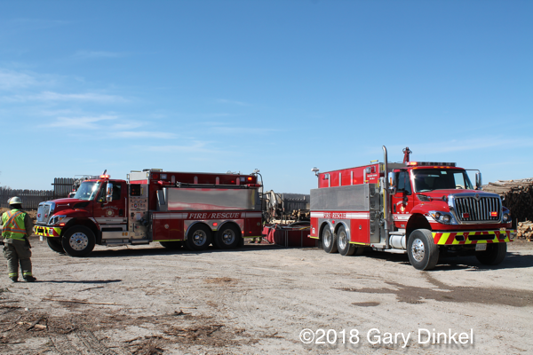Wellesley Township Ontario fire trucks