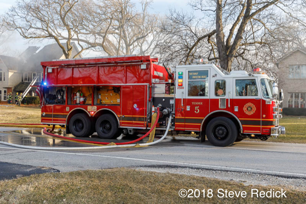 West Chicago FPD Tanker 5