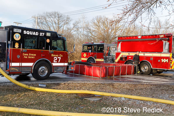 St Charles Fire Department pumper tanker