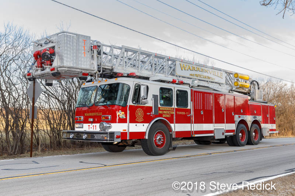 Warrenville FPD tower ladder