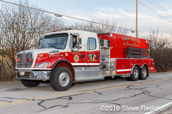 York Center FPD pumper tanker