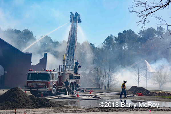 4-Alarm fire in Cottageville South Carolina
