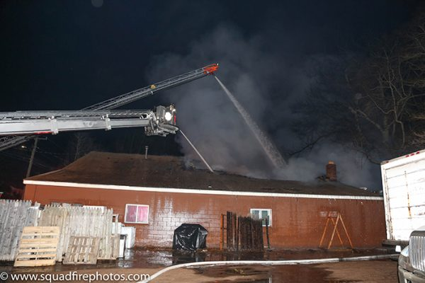 -Alarm fire in East Hartford CT