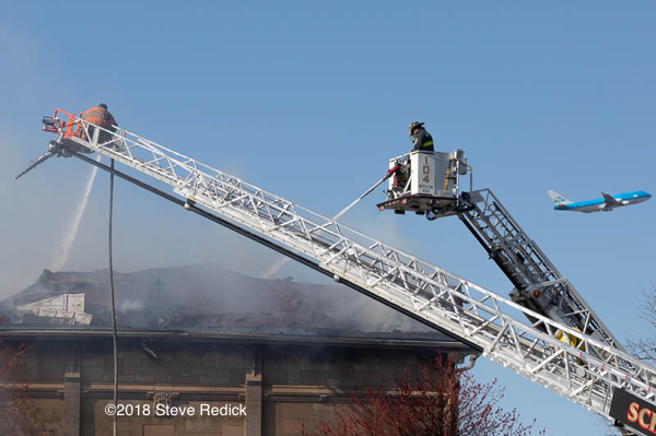 master streams work during a fire