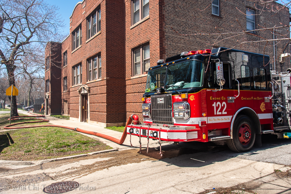 Chicago FD Engine 122