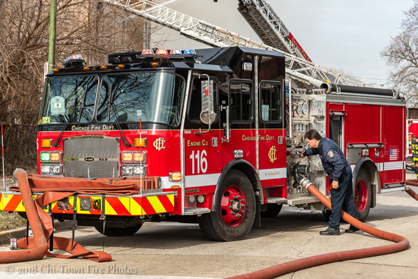 Chicago FD Engine 116