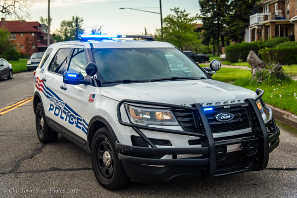 Detroit police Ford Explorer