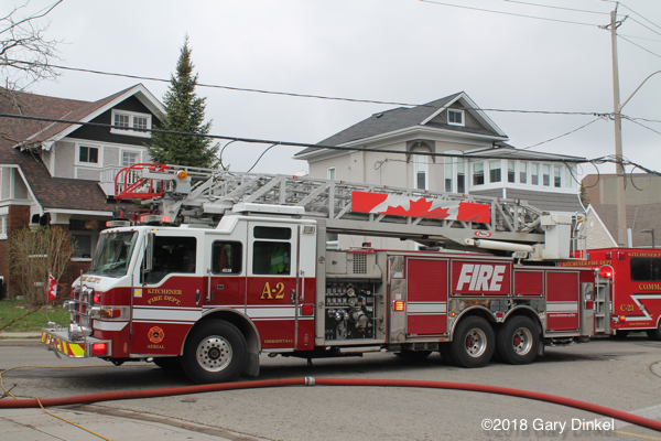 Kitchener FD Aerial 2
