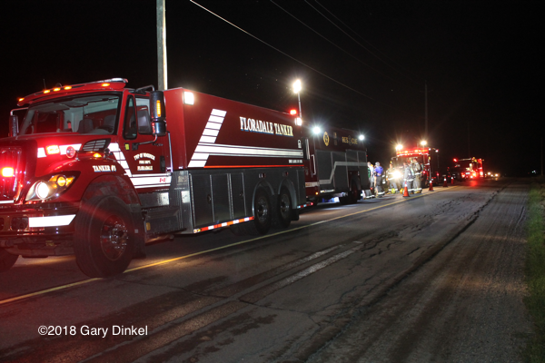 fire trucks in Woolwich Township Ontario