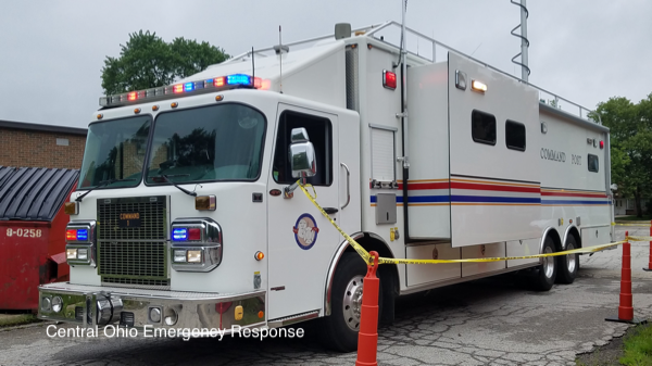 Columbus FD Mobile Command post