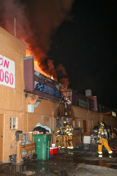 2-Alarm commercial building fire in Vernon CT in a restaurant
