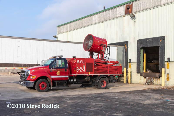 Chicago FD mobile ventilation unit