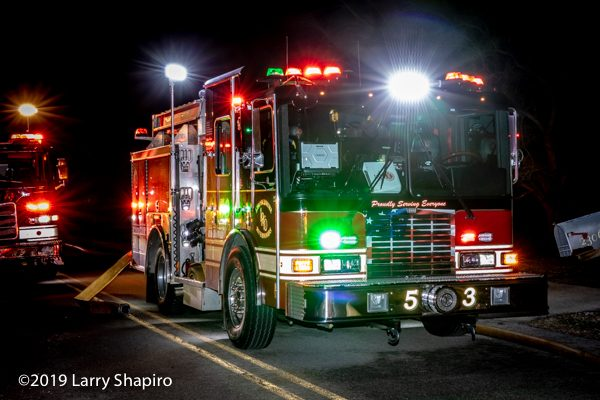 Lincolnshire-Riverwoods FPD Engine 53 HME Ahrens Fox RAT