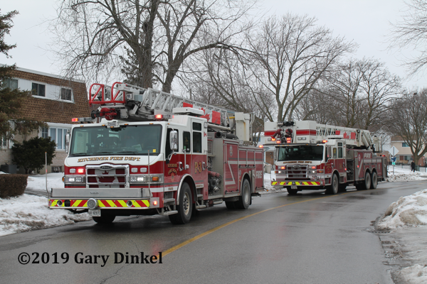 Kitchener fire trucks