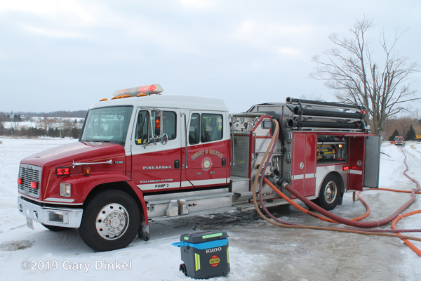 Township Of Wellesley fire engine Freightliner