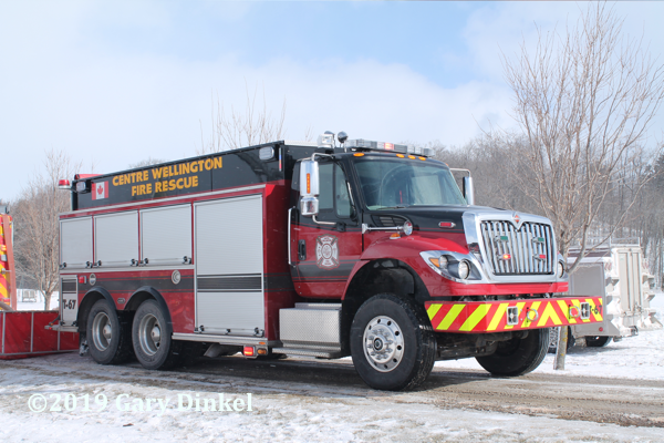 Centre Wellington FD tanker