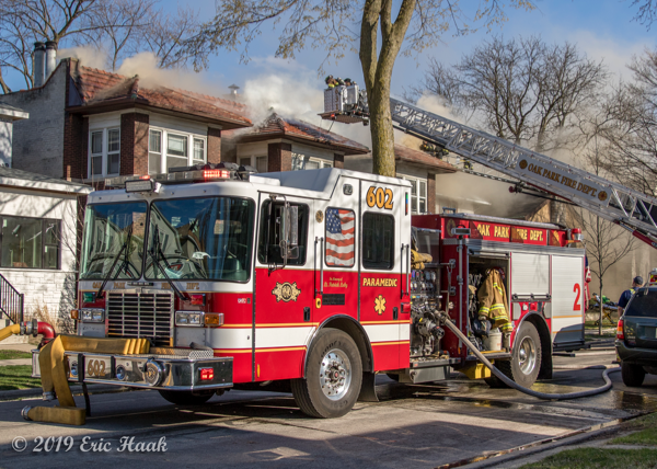 Oak park FD Engine 602 HME 1871 Silver Fox