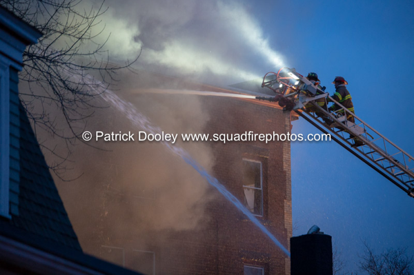 3-Alarm fire in Springfield MA