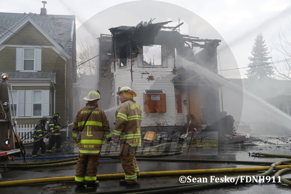 3-Alarm fire in Lawrence MA
