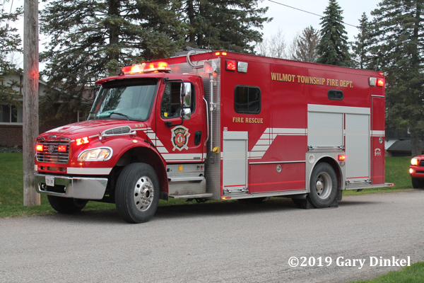Wilmot Township (ON) FD rescue unit