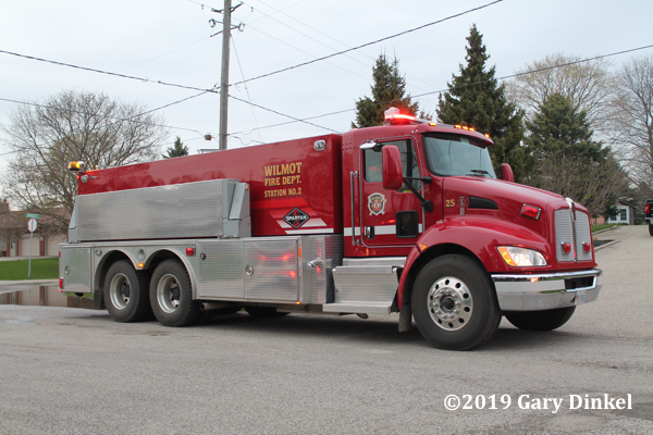 Wilmot Township (ON) FD tanker