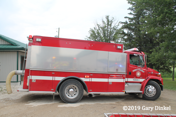 Wellesley Township Fire Department Tanker 2 St Clements Station