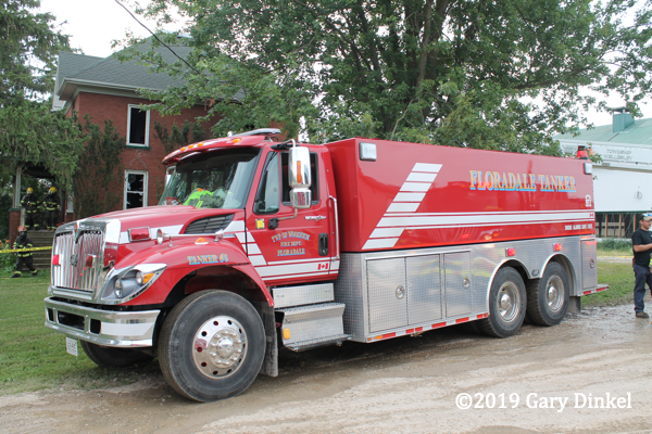 Woolwich Township FD Tanker 3 Floradale